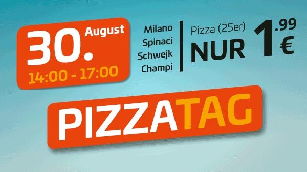 (Magdeburg, Halle, Leipzig) Uno Pizza für 1,99€ - 4 Sorten - Nur Abholung