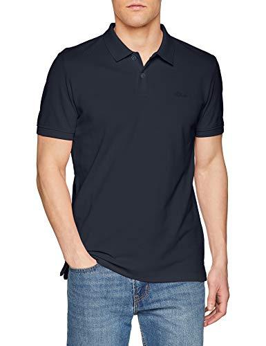 Amazon s.Oliver Herren Poloshirt Blau in den Größen S bis 3XL für 9,99 Euro