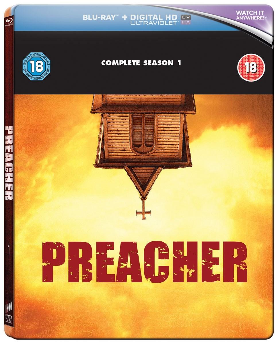 Preacher - Staffel 1 Steelbook Edition (Blu-ray) für 7,85€ inkl. Versand (Zoom)