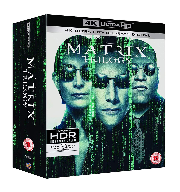 Matrix Trilogy (4K Blu-ray + Blu-ray) für 43,44€ (Amazon UK)