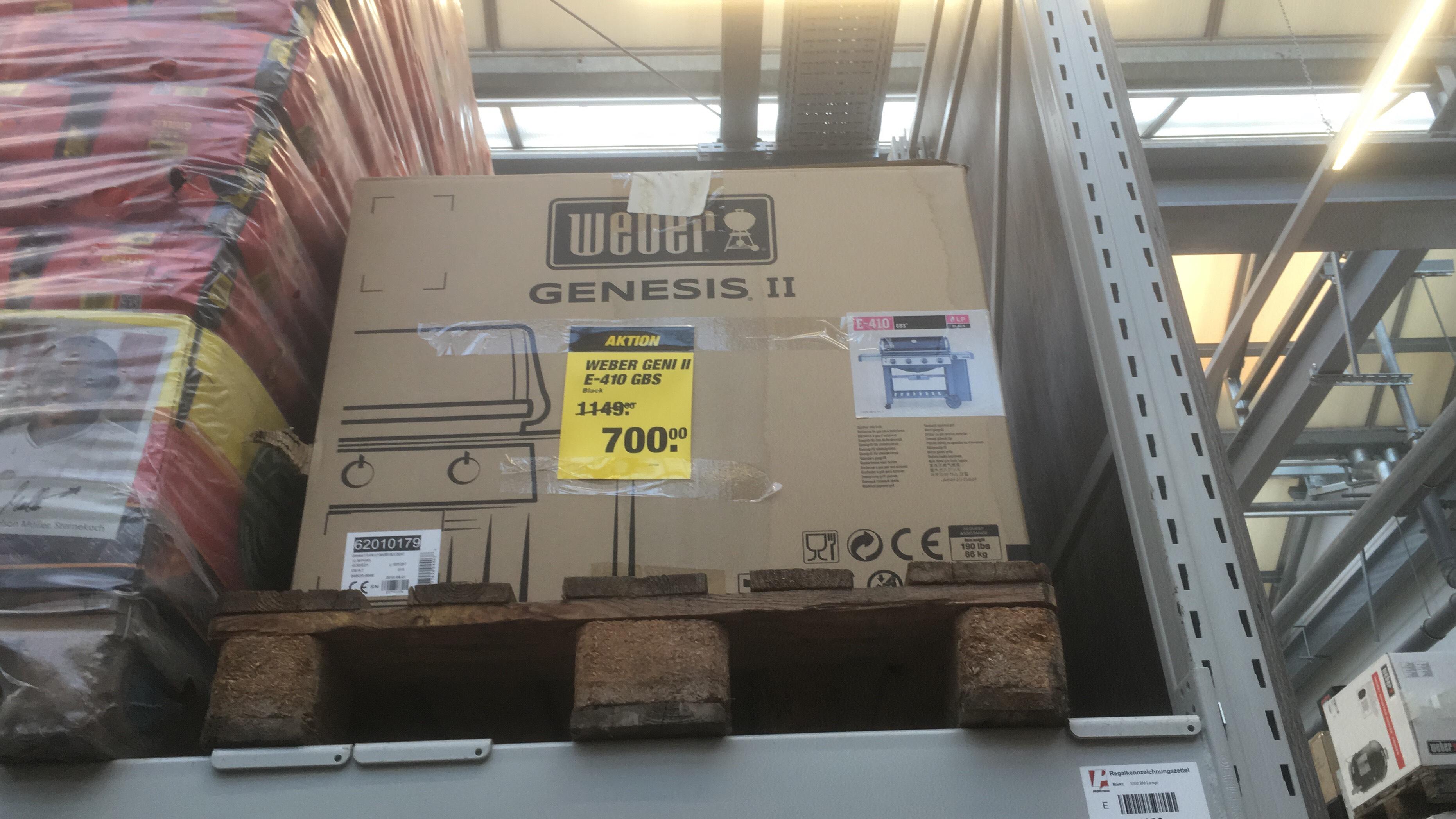 [Toom Lemgo Lokal] Weber Genesis 2 e-410 GBS - Einzelstück OVP