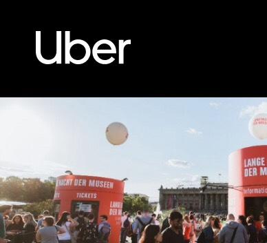 [Lokal] 5x15 % auf Fahrten mit Uber in Berlin