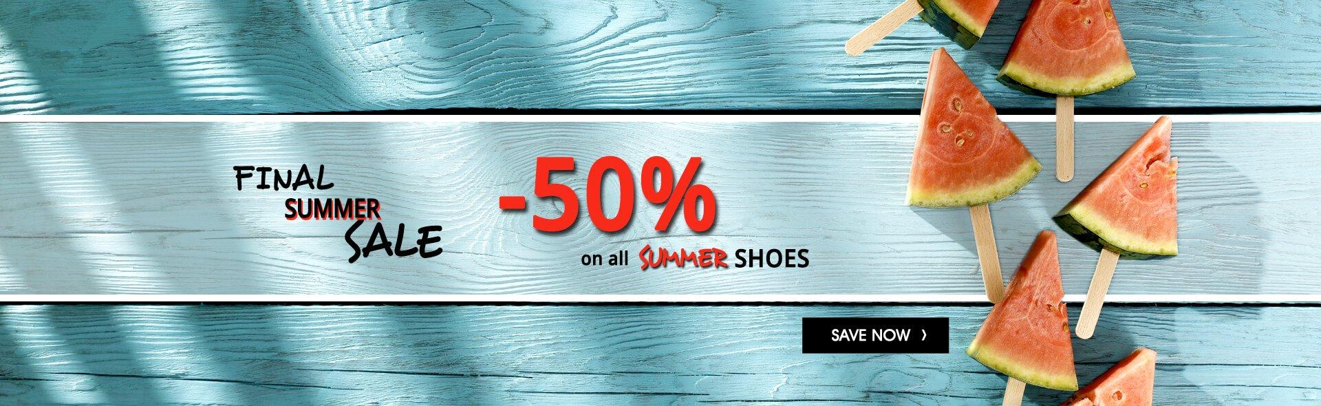 [Rieker-Outlet.de] Final Summer SALE - 50 % auf alle Sommerschuhe