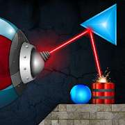 Free Android Spiele App: LASERBREAK Pro (4,1*) - Physik-Puzzle-Spiel [Google Play Store]