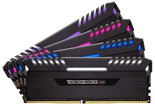 Corsair Vengeance RGB 64GB (4 x 16GB) DDR4 2666MHz