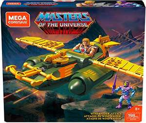 [amazon.com] Mega Construx - Masters of the Universe Wind Raider und Battle of Eternia
