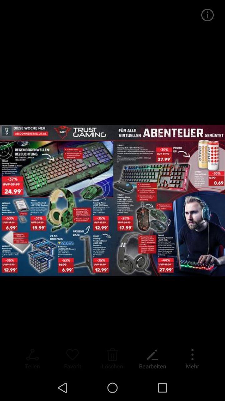 [Sammeldeal] Kaufland. z.B. Trust GXT310C gaming Headset