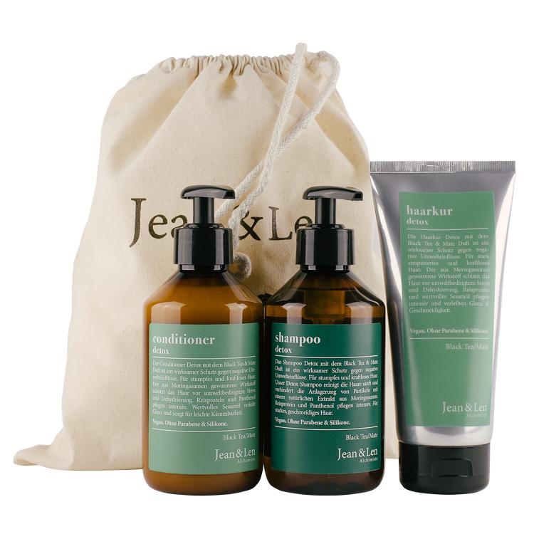 50% Rabatt auf das Jean&Len Detox Haarpflege Set
