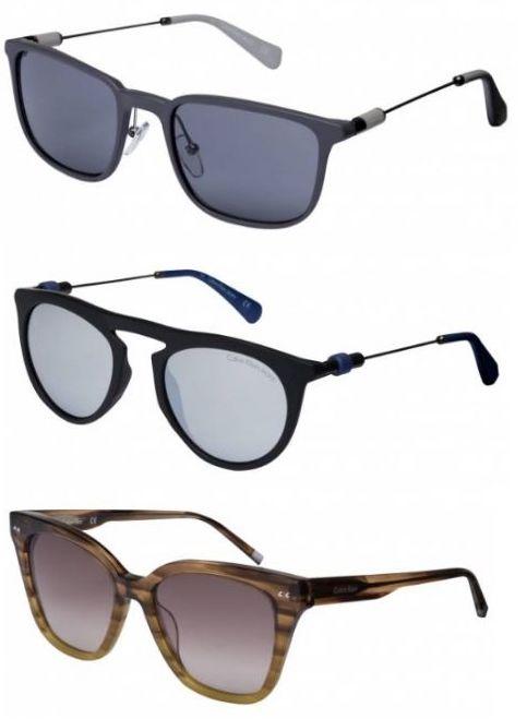 Calvin Klein Sonnenbrillen in 25 Designs, je 39,99€ + Versand, zB CKJ504S-047