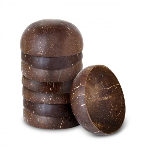 Kokosnusschalen | 2 x 4 Stück
