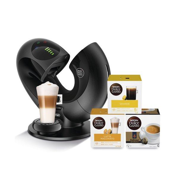 [check24] DeLonghi EDG 737.B und 736.S Dolce Gusto Eclipse Kaffeemaschine zu 79,90€ inkl. 3 Packungen Kapseln