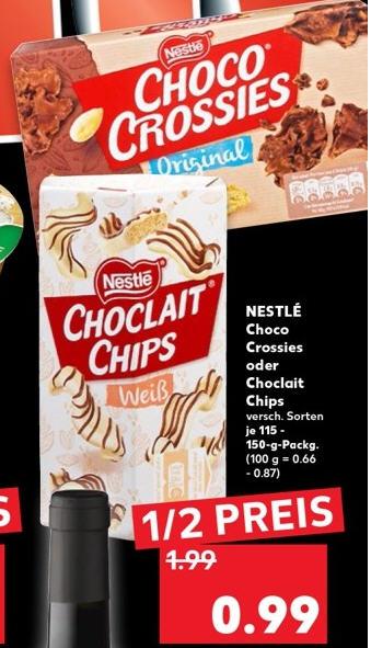 Choclait Chips / Choco Crossies bei [Kaufland] ab 29.08.