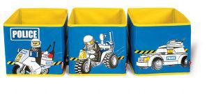 LEGO® Aufbewahrungsbox Polizei oder Feuerwehr