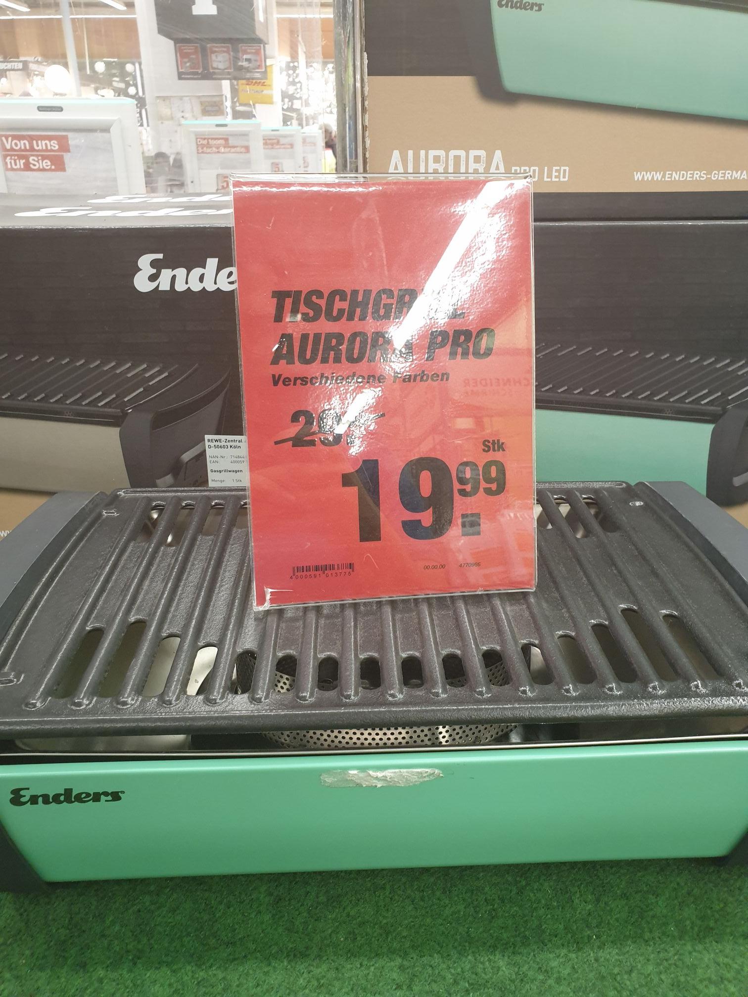 Aurora pro Tischgrill von Enders lokal Ffm Griesheim