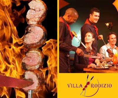 [LOKAL BERLIN] Villa Rodizio: 12-gängiges Menü mit 9 verschiedenen Fleischsorten für 12,45€