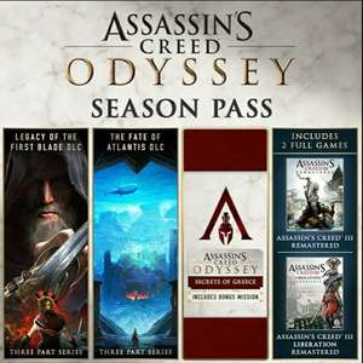 Assassin's Creed Odyssey - Season Pass (Uplay) für 15.48€ (2game) und (Xbox One) 19.99€ (Microsoft Store)