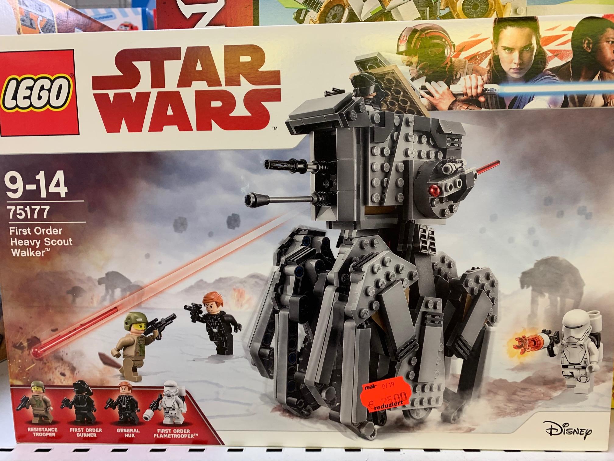 [Lokal] Real Alzey - LEGO Star Wars 75177 First Order Heavy Scout Walker