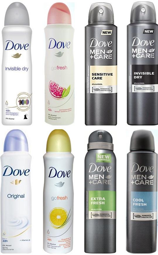 10x Dove Deo Spray (für Sie und/ oder Ihn) mit Kassenrabatt nur 10,40€ und zusätzlich 7,50€ Cashback möglich (effektiv nur 0,29€ pro Dove)