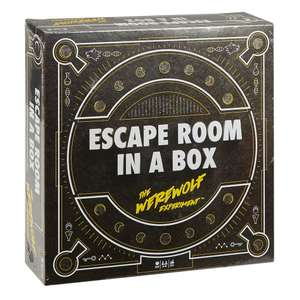 Mattel Games™ - Escape Room In A Box: Das Werwolf-Experiment für €19,97 [@Real.de]