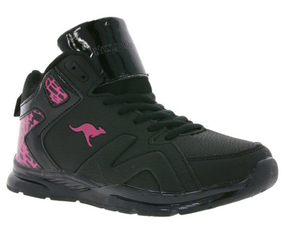 KangaROOS K-LEV VI HI Kinder Sneaker Schwarz LED-Sohle Gr. 30