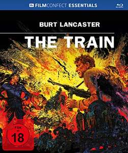 The Train - Filmconfect Essentials Limited Mediabook Edition  (Blu-ray + Original Kinoplakat) für 7€ (Amazon)