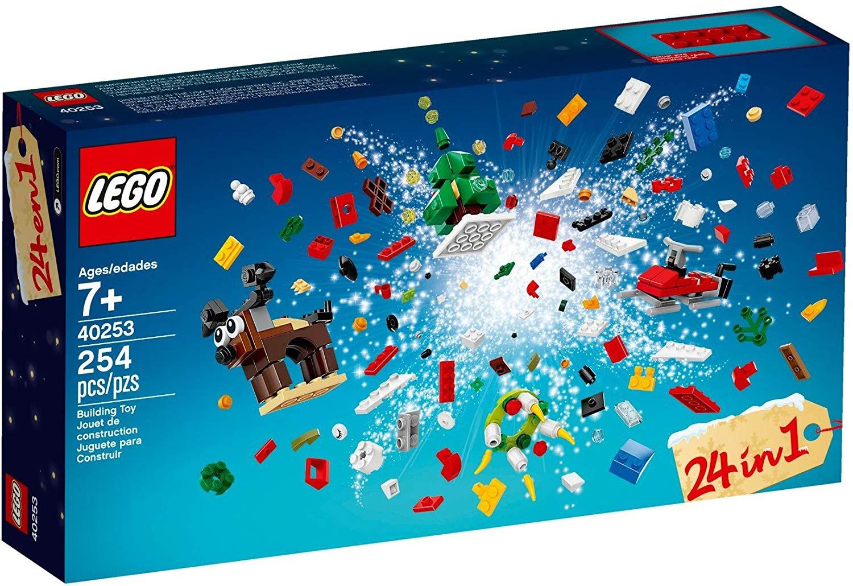 Lego™ - 24-in-1 Weihnachtlicher Bauspaß (40253 / 254 Teile) für €4,99 [@Lego.de]