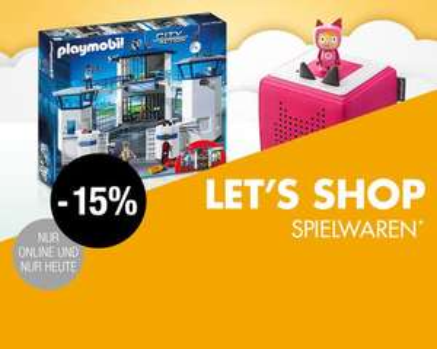 15% auf Spielwaren (Lego / Brettspiele) bei Galeria Kaufhof