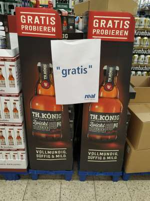 Gratis Bier in Real Gelsenkirchen [LOKAL]
