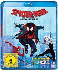 [lokal Langenfeld] : Spider-Man: A New Universe Blu Ray