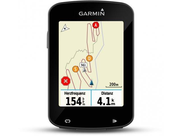 Garmin Edge 820 GPS Trainingscomputer + Navigationssystem mit Notruf-Funktion und Herzfrequenzmessung