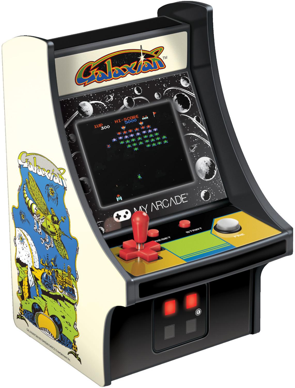 My Arcade Galaxian Retro Automat Konsole mit Hintergrundbeleuchtung für 19,07€ inkl. Versandkosten