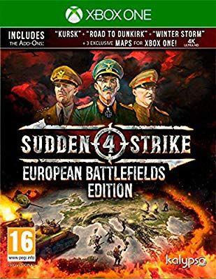 Sudden Strike 4European Battlefields Edition (Xbox One) [Amazon.it]