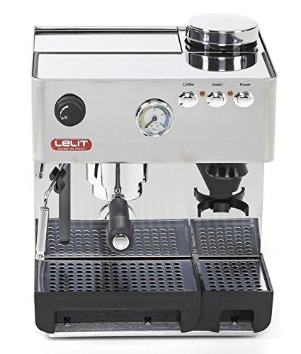 Lelit PL 42 EM Siebträger mit integrierter Kaffeemühle