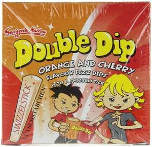 Dok Double Dip Schleckpulver, 24er Pack (24 x 18 g Packung) Amazon Prime