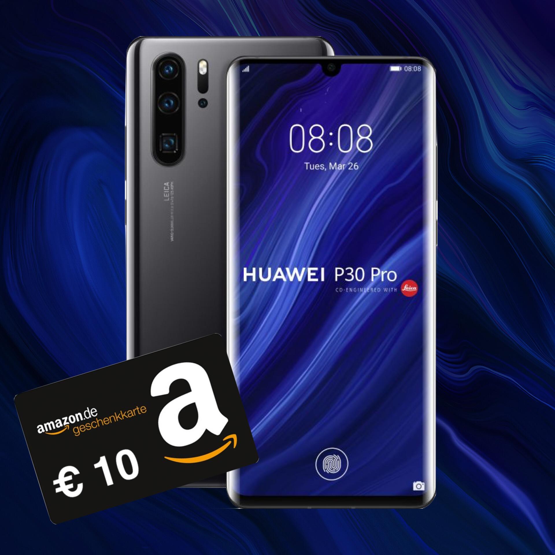 Otelo Allnet Max (20GB LTE) für mtl. 29,99€ mit Huawei P30 Pro (53,99€) inkl. 10€ Amazon Gutschein im Vodafone-Netz I mit iPhone 8 für insgesamt 773,75€