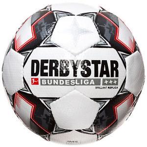 Derbystar Bundesliga-Ball Brillant Replica 2018/2019 (Größe 5) *versandkostenfrei* [OUTFITTER@Ebay]