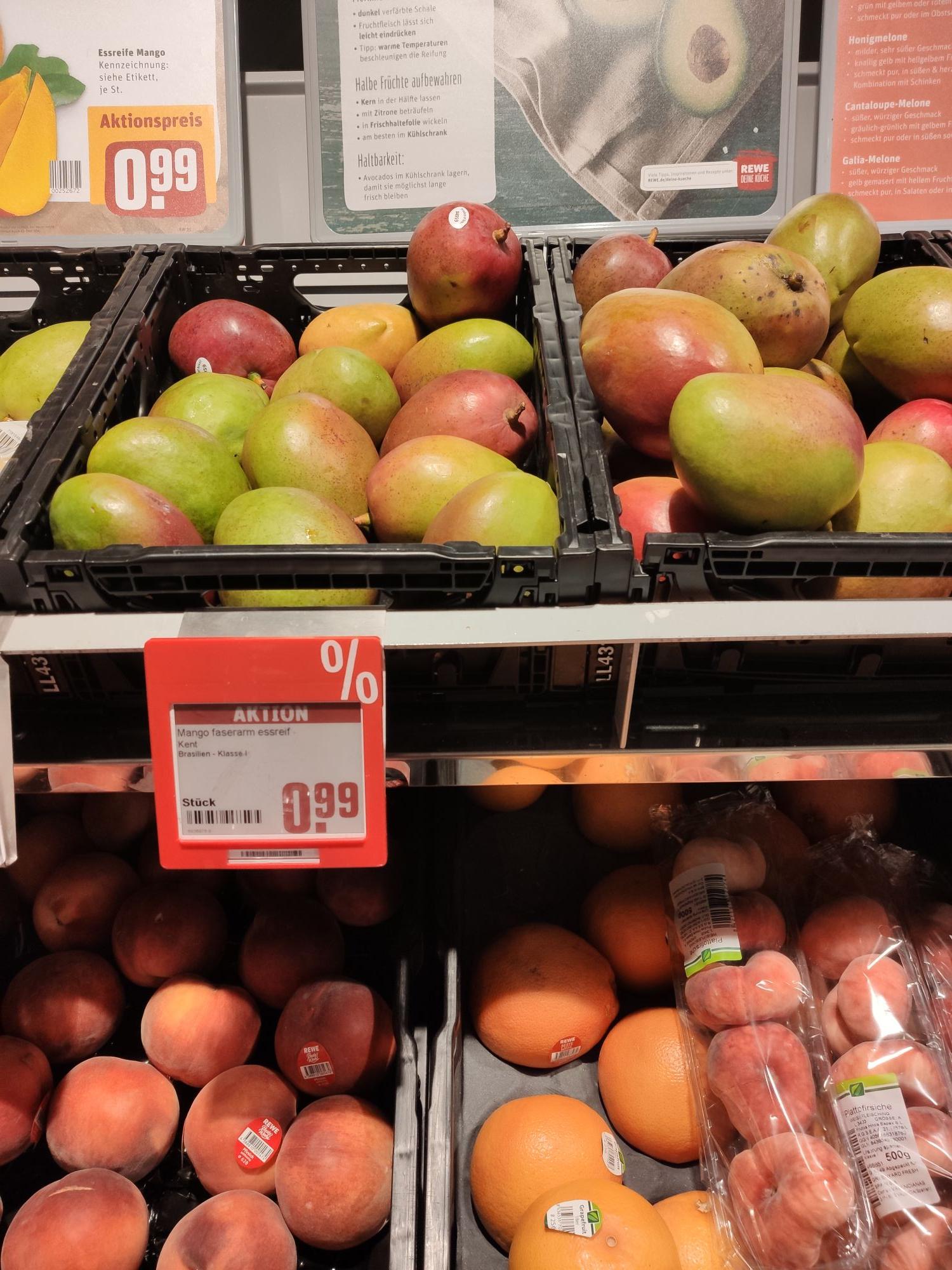 Mango essreif Rewe[LOKAL BERLIN]