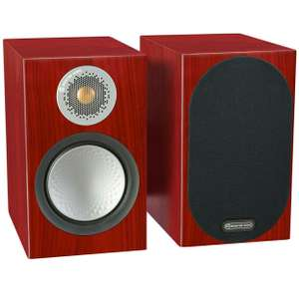 Monitor Audio Silver 50 Lautsprecher (Paarpreis, 2-Wege, 2,5cm Hochtöner, 13,3cm Tieftöner, 45Hz - 35kHz, 87dB, 6Ω)
