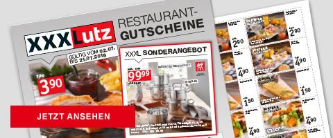 XXXL (Lutz) -Restaurant-Gutscheine