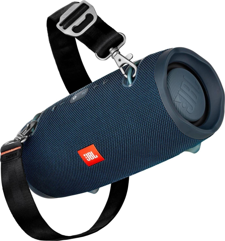 JBL Xtreme 2 - Bluetooth Lautsprecher (IPX7, integrierte 10.000mAh Powerbank, USB-Ladefunktion) in Ocean Blue