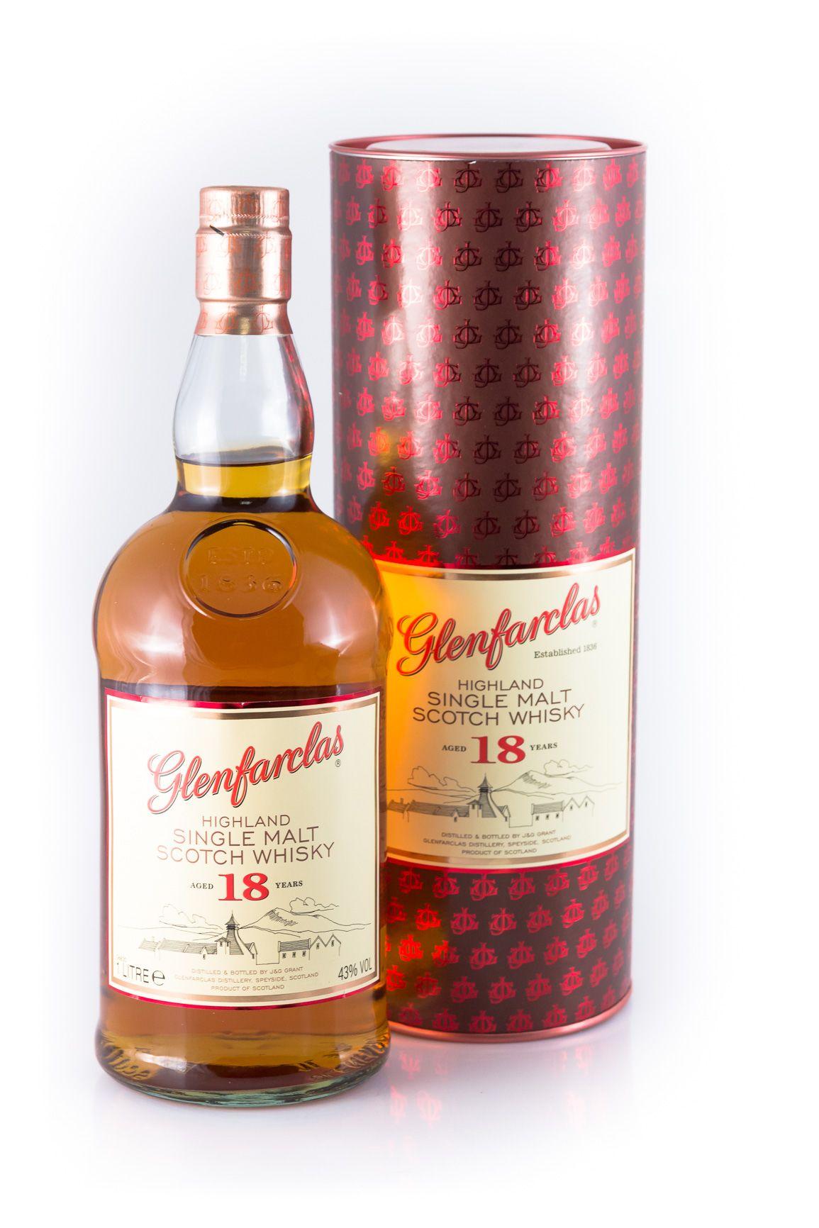 [Drankdozijn] Glenfarclas 18 Single Malt Scotch Whisky 43% 1,0l Flasche