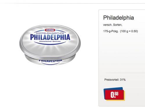 (Offline) Philadelphia für 0,88€