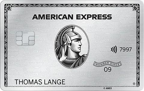 Amex American Express Platinum Karte 54.000 MR Punkte per Freundschaftswerbung