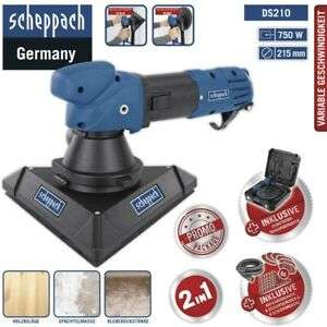 SCHEPPACH DS 210 - Wand+Decken Trockenbauschleifer
