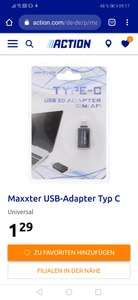 (Action) USB Adapter Typ C