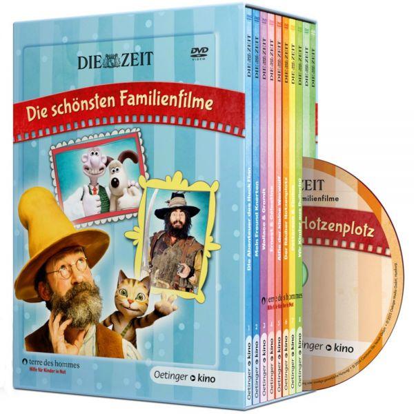 """DVD-Box """"Die schönsten Familienfilme"""" (10 DVDs) aus dem ZEIT Shop"""