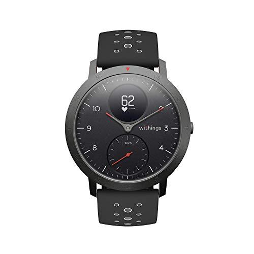 Withings Steel HR Sport - Multisport Hybrid Smartwatch. Fitnesstracker mit langer Akkulaufzeit