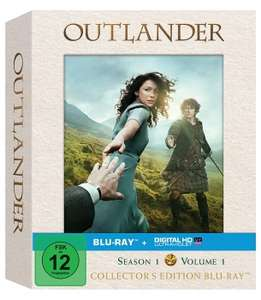 OUTLANDER - SEASON 1 Vol.1 und Vol.2 (COLLECTOR'S EDITION) BLU-RAY 14,87 € inkl. Versand