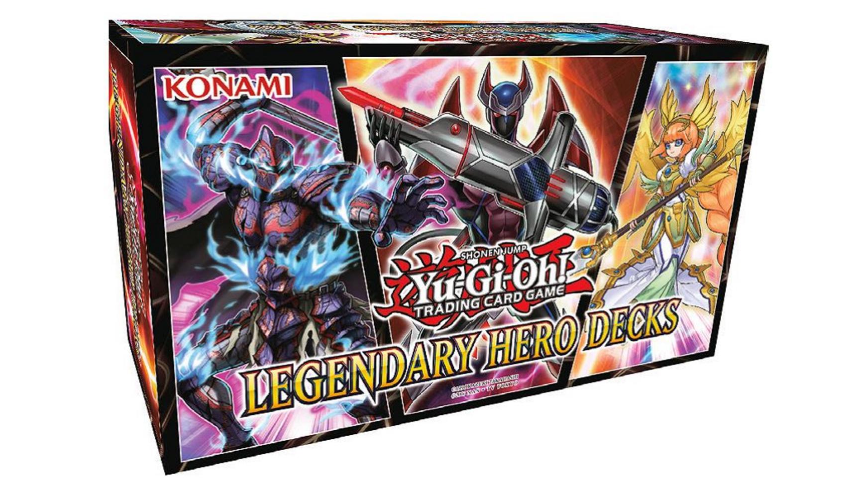 Yu-Gi-Oh Sammelkartenspiel - Yu-Gi-Oh! Legendary Hero Decks