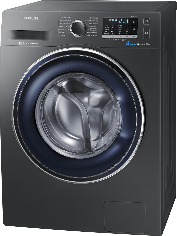 Waschmaschine Samsung WW70J5435FX (A+++, 7kg, 1400U/min, 14 Programme, SchaumAktiv, Schontrommel, Mengenautomatik, NFC, Invertermotor)